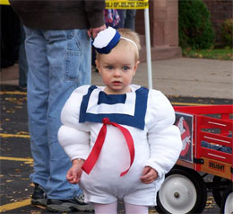 Stay Puft Marshmallow Man Baby Halloween Costume  sc 1 st  123Print & 11 Baby Costumes You Should Consider This Halloween - 123Print Blog