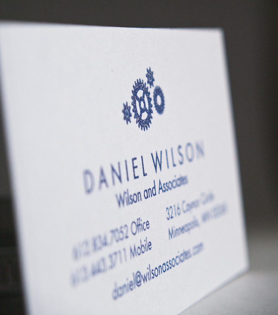 NEW 123Print Raised-Ink Business Cards
