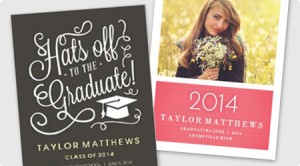 Graduation Announcements from 123Print